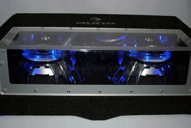 Subwoofer ,Tuba samochodowa Auna Sub,podświetlana.