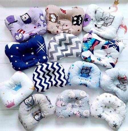 Ортопедическая подушка для новорожденых новая