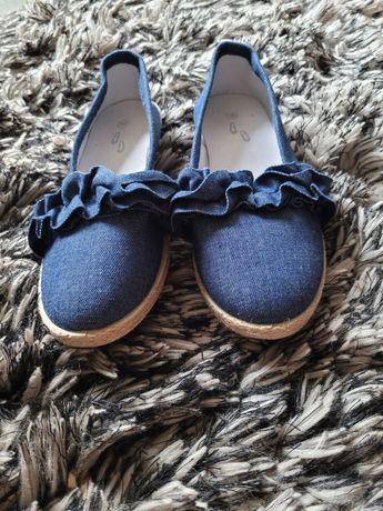 Balerinki jeans 36