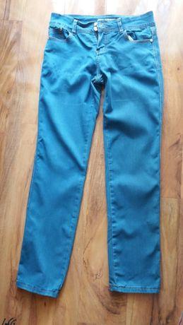 Spodnie jeansowe damskie granat r.M
