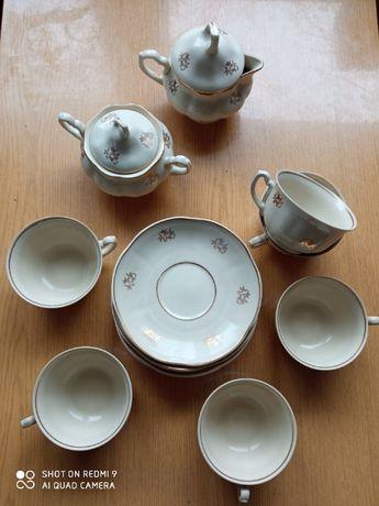 zestaw kawowy porcelana Chodzież
