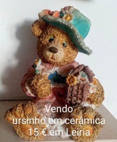 Urso de seramica