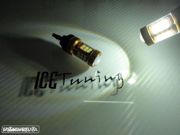 Led T20 / 7443 21/5W 2 Polos Branco 7W, 480 LUMENS 12V-24V LED SAMSUNG