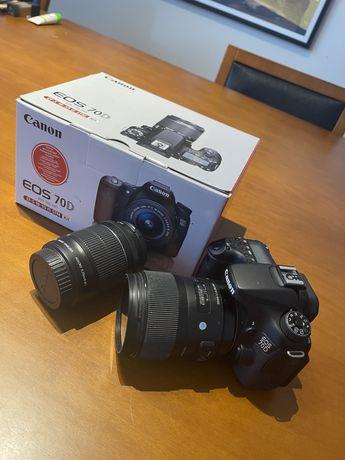 Canon 70D+lente sigma 35mm
