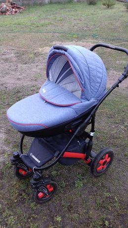 Wózek 3w1 i parasolka przeciwsłoneczna