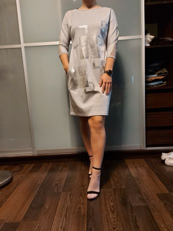 Szara sukienka MIDORI