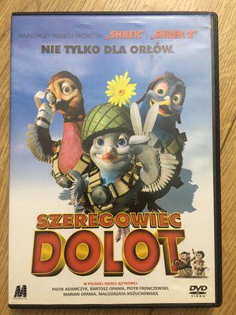 Płyta DVD film animowany szeregowiec dolot