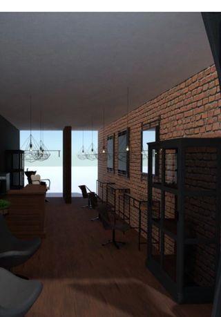Salon fryzjerski w stylu loft do wynajęcia - Retkinia