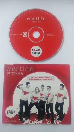 WESTLIFE upown girl płyta CD