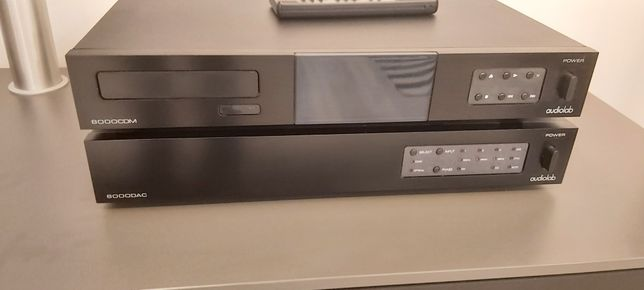 Transporte e Conversor Audiolab 8000 series Raro