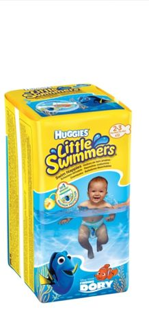 Подгузники-трусики для плавания басейна Huggies Swimmers 3-4,  2_3