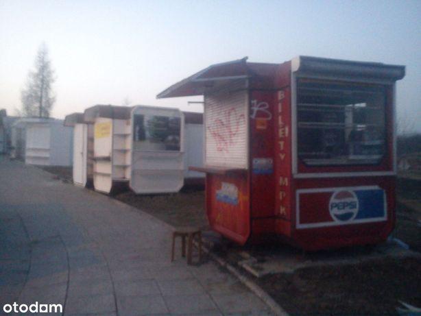 Kiosk przy cmentarzu Nysa ul. Złotogłowicka