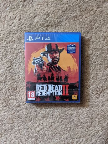 Nowa Red Dead Redemption 2 RDR2 Gra Gry PS4 PlayStation