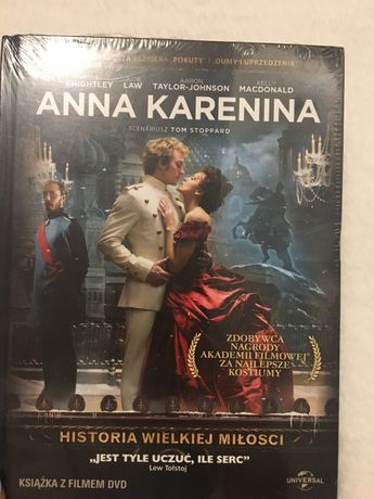 Płyta cd film DVD Anna Karenina