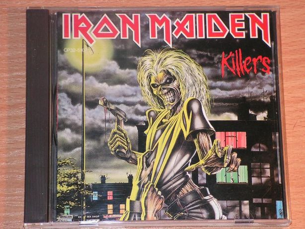 Iron Maiden - Killers CP32-5107 Japan (Black triangle)