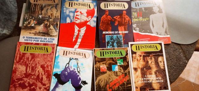 Lote de Revista história