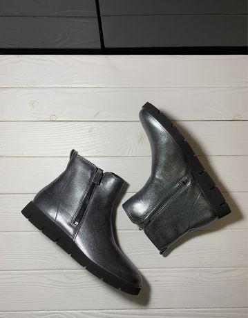 Осенние женские ботинки ECCO. Р 36, 37, 42