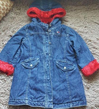 Оригинал.Фирменная,джинсовая,оригинальная курточка tommy hilfiger