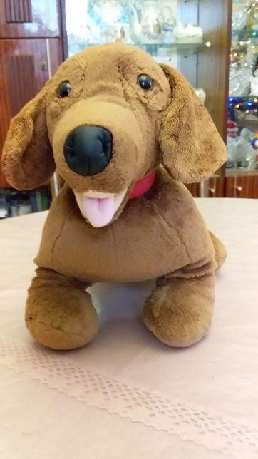 Мягкая игрушка собака такса