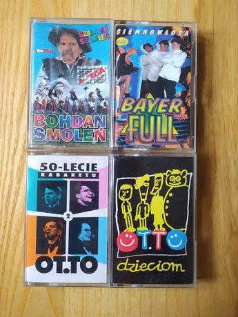 kasety audio 4 sztuki