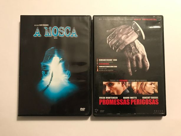 2 DVDs David Cronenberg: A Mosca e Promessas Perigosas