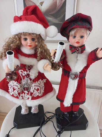 Ruchoma Parka lalek świątecznych