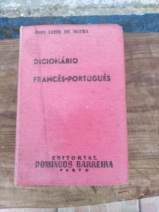 Dicionário antigo Francês /Português Colos - imagem 1