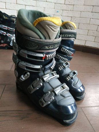 Лижні боти salomon .ботинки . Черевикі лижні Розмір 25.0 ( 292) 38-39