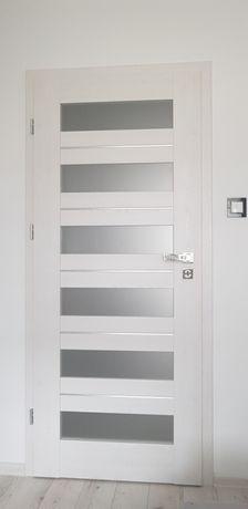 Drzwi Erkado Floks1 Lewe nowe Sosna Greco