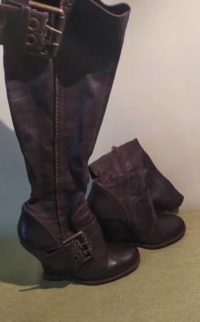 демісезонні жіночі сапоги, женские ботинки, сапоги
