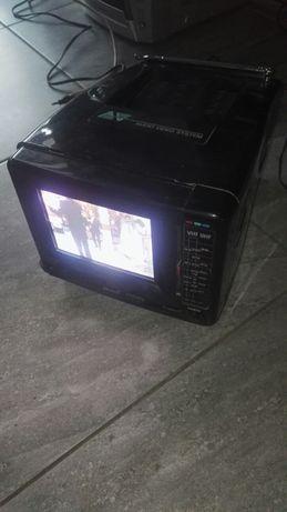 Sprawny telewizorek kineskopowy Royal TV-14/A z oryginalny zasilacz