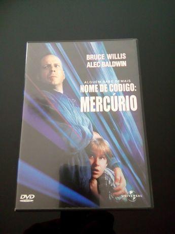 """DVD - """"Nome de Código: Mercúrio"""" com Bruce Willis"""