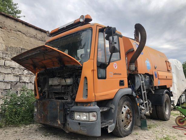 Zamiatarka drogowa Iveco Euro Cargo zamiana
