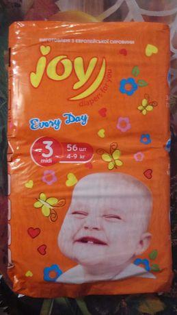 Подгузники Joy, 3