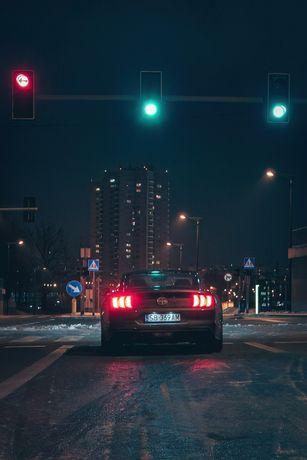 Wynajem limitowany Ford Mustang GT Bullitt V8 bez kaucji wypożyczalnia
