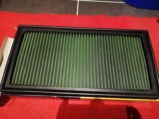 Filtro green para audi/vw/seat/skoda de alto fluxo como novo