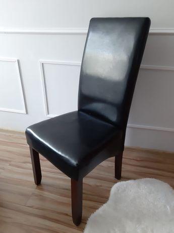 Krzeslo eko skóra / 2 sztuki / jak nowe/ Inowrocław