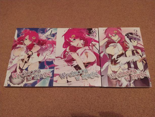 Manga Wrobiona w Magię 1-3 Komplet
