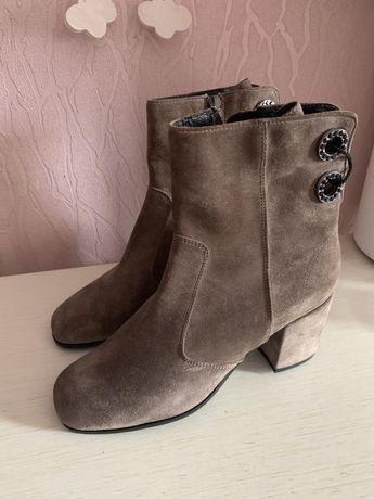 Шикарные натуральные ботиночки