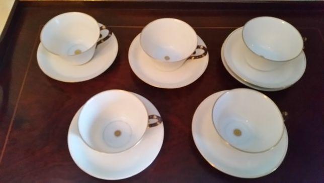 Conjunto de chavenas chá antigas!