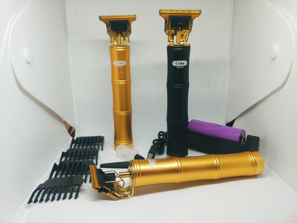 Машинка для стрижки тріммер для бороди окантовочна машинка професійна