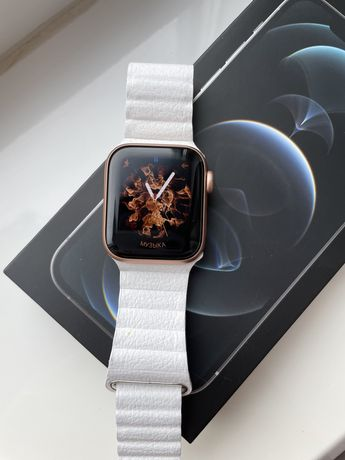 Apple Watch Series 6 40mm Gps Gold aluminum Case with Pink Sand Sport