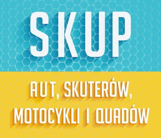 Skup Aut Samochodów Warszawa, Motocykli, Skuterów, Quadów, Przyczep