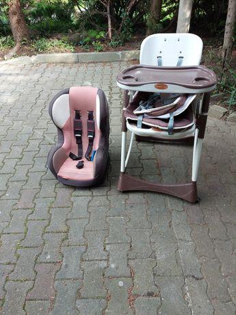 Fotelik plus krzeselko