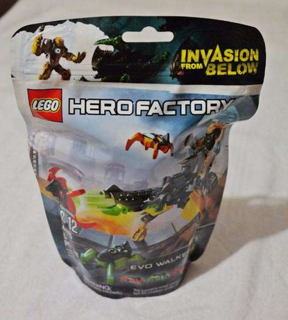 Оригинальный конструктор Lego Hero Factory Лего Судоход Эво 44015! Опт