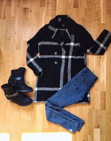 Тёплое оверсайз пальто Oasis M L