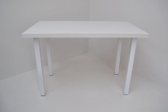 Stół 90x50x38 Biały Połysk n.kwadrat biała Okazja!