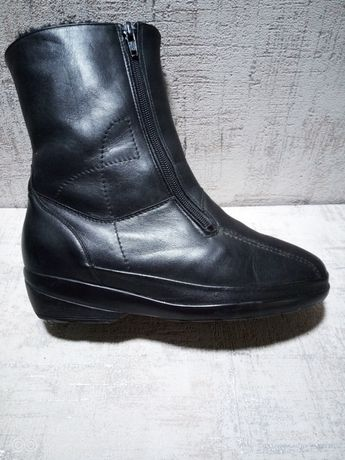 Ботинки женские, Германия, кожа, 38 р-р.