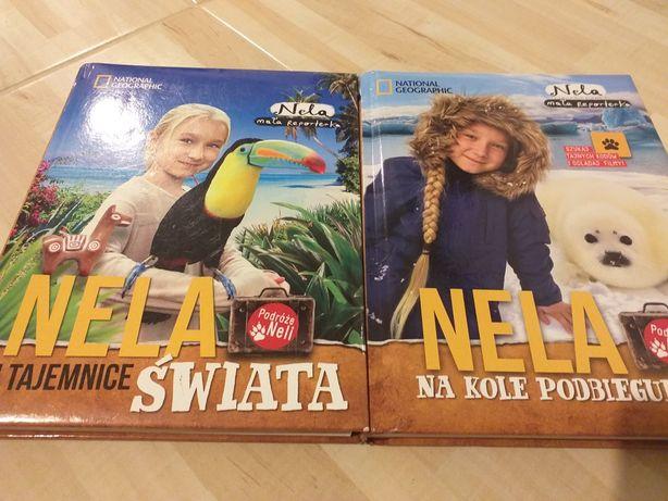 Nela, mała reporterka, 2 książki/ autograf