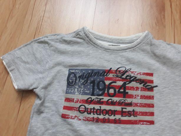Bluzeczka bawełniana dla 6-7 letniego chłopca, rozm. 122